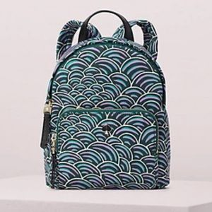 NWOT Kate Spade Taylor Party Bubbles Backpack